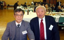 中村支部長と校長先生