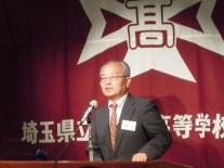 講演会の斉藤正司さん