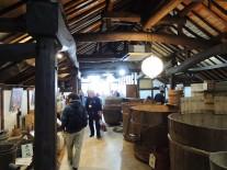 鈴木酒造資料館の展示ルーム