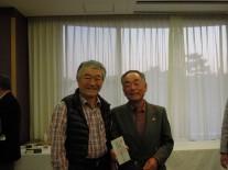 今井同窓会会長と3位の小林さん