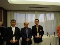 ベスグロ上位3名、左から3位の関根さん、1位の岩崎さん、2位の陶さん