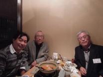 高12回待山さん、青木さん、高45回腰越さん