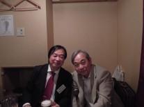 木村会長と同級生の市村同窓会副会長