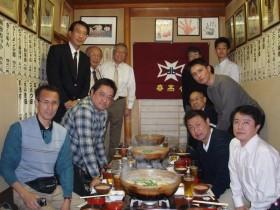 北海道春高会出席者と記念写真