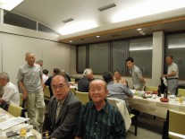 渡辺副会長(右)と蛭間さん