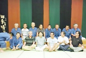 24回の6組クラス会、ホテルヘリテイジ東松山にて