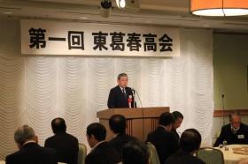 東葛春高会設立を熱く語る菊田準備会会長