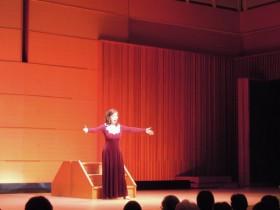 昨年のオペラ「ファウスト」から、マルグリートを演じる家田紀子さん