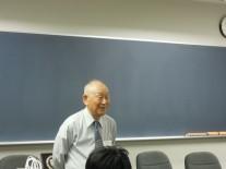 囲碁クラブ会長の高橋さんご挨拶