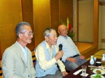 左から神山先生、佐々木先生、堀沢先生
