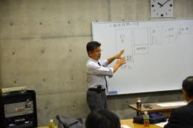 相続税の研修をする高橋孝志講師