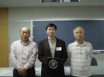 左から2位の森田さん・優勝の小山さん・2位の塙さん