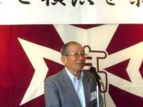 青木三良横浜春高会支部長のご挨拶