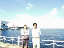 14. 本校から参加いただいた同窓の飛永先生と斎藤先生