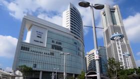 集合場所のJR桜木町駅前