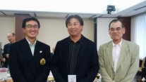 左からベスグロ2位の陶さん、1位の長谷川さん、3位の村上さん