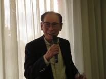 出場者最年長の斎藤文平さん