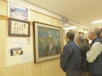 北川辺西小学校の田中正造翁肖像画