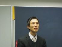 現顧問の江森先生