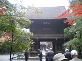 平林寺にて