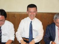 初参加の野崎さん(高34回卒)