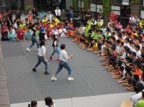 他校招待のダンス
