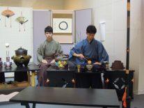 茶道部の御手前、3年生田坂くん