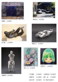 第一回春日部高校美術OB会 美術展出品予定者