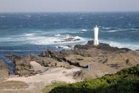 安房崎の灯台