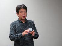 講演いただいた高43回卒、山田さん