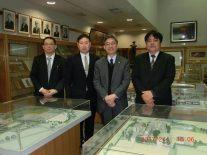 左から大塚、山下、島田、立原さん