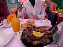 ラパシュとボロ・デ・カコで最初の乾杯