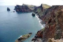 ポンタ・ド・ロシュトの断崖 きれいな海に切り立つ海崖 360°の絶景です