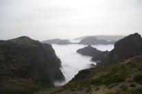 ピコ・ド・アリエイロの雲海 幻想的な世界です
