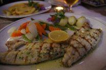 スズキのグリル マデイラの人達は白身魚が大好き