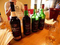 H・M・ボルゲシュの社長が出してくれた30年ものの辛口マデイラワイン