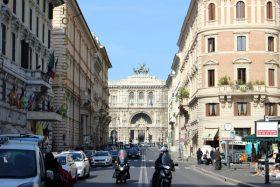会場周辺・ローマの街並み