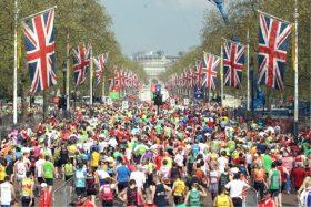 ロンドンマラソンの様子