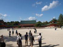 広大な敷地の平安神宮