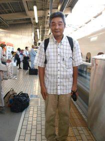岡村君、奈良漬のお土産ありがとう!