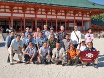 平安神宮での記念撮影