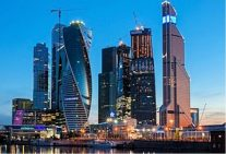 モスクワの高層ビル