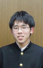 個人戦優勝 林隆羽(2年生)