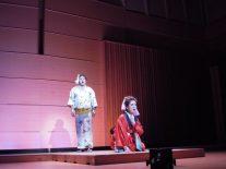 お七(家田紀子)と吉三郎(所谷直生)