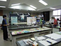 地学部の展示