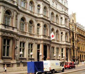 在英日本大使館