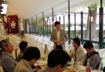 海外春高会親子2世代参加の田村寿郎さん(57回)