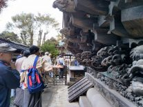 野田愛宕神社にて