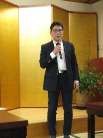 柳澤貞夫代表幹事 開会の辞