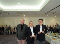左からベスグロ3位の吉田さん、1位の柴﨑さん、2位の陶さん